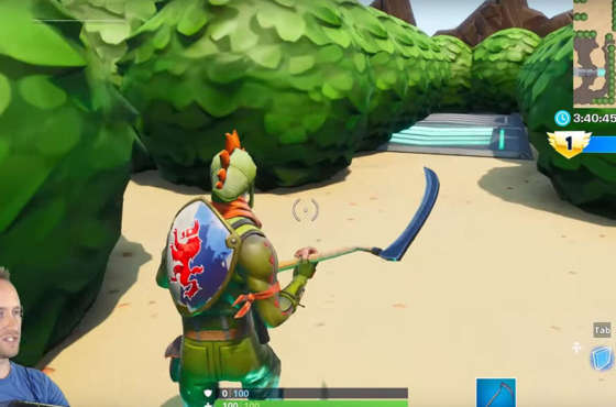 Recrean el mapa de The Legend of Zelda en Fortnite