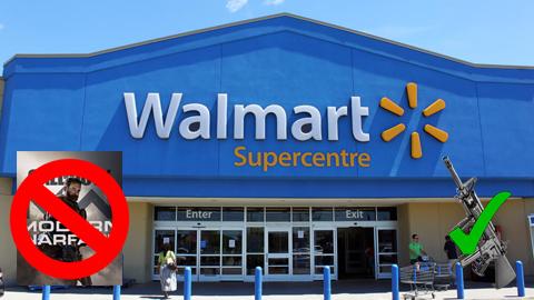 Walmart retirará los anuncios de videojuegos violentos de todos sus locales