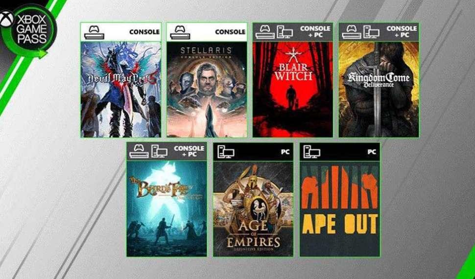 Los 7 nuevos títulos que se unen a Xbox Game Pass