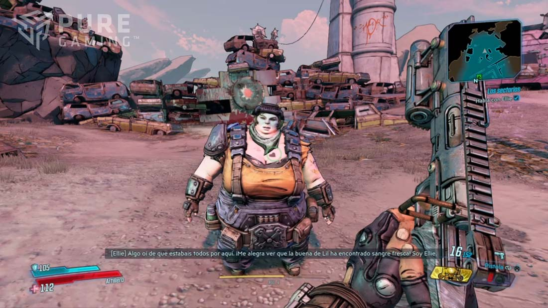 analisis borderlands 3