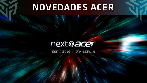 IFA 2019: Estas son todas las novedades que ha presentado Acer