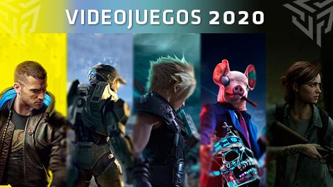 Los VIDEOJUEGOS más esperados de 2020 y su fecha de lanzamiento