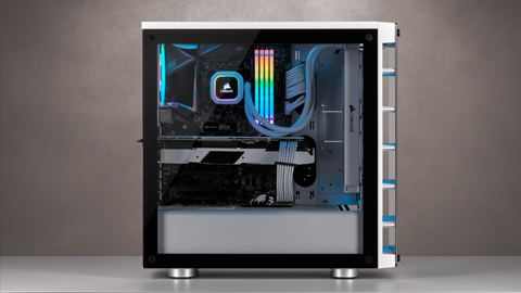 Corsair lanza el chasis inteligente iCUE 465X RGB
