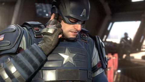 Crystal Dynamics explica el diseño del Capitán América de Marvel's Avengers