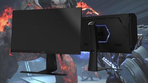 ViewSonic ha presentado una serie de nuevos monitores gaming ELITE