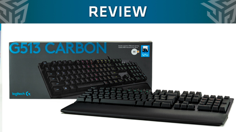 Review teclado Logitech G513 Carbon