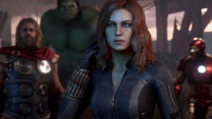 viuda negra marvel's avengers