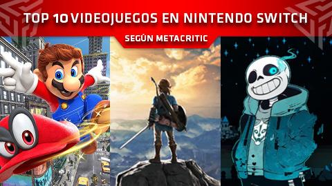Los 10 mejores videojuegos en Nintendo Switch según Metacritic