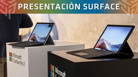 Microsoft presenta en España los nuevos productos de Surface