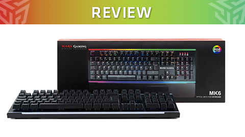 Review Teclado Mars Gaming MK6 – La llegada del switch optomecánico