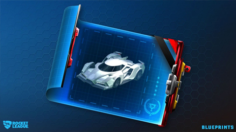 Rocket League cambia las cajas de botín por planos que muestran su contenido