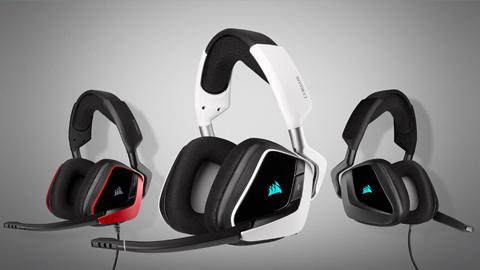 Corsair renueva su gama de auriculares con las nuevas series VOID ELITE y HS PRO
