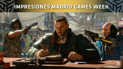 Nuestras impresiones de Cyberpunk 2077 en la Madrid Games Week