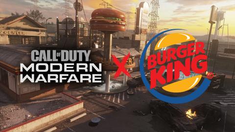 Call of Duty: Modern Warfare y Burger King anuncian una colaboración