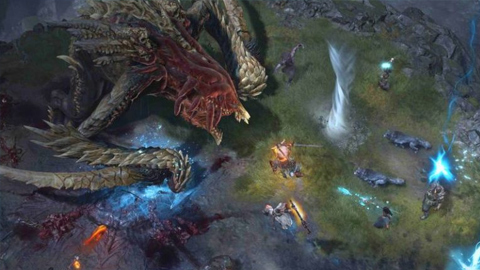 Diablo IV muestra un gameplay centrado en la lucha contra un jefe de mundo