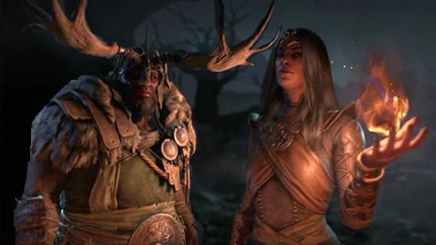 La Hechicera y el Druida de Diablo IV se muestran en dos nuevos gameplays