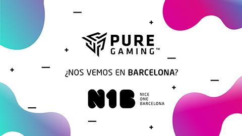 PureGaming estará en NiceOne Barcelona con todas estas actividades