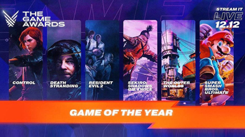 ¡Estos son todos los videojuegos premiados de The Game Awards 2019!