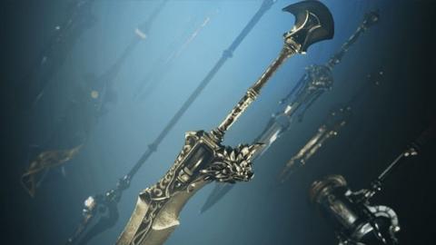 Echamos un primer vistazo a las armas del videojuego Godfall