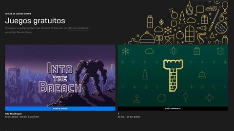 La Epic Games Store comienza un maratón de videojuegos gratuitos