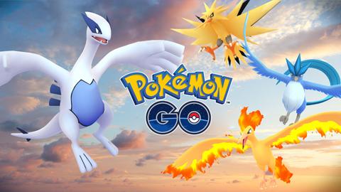 Pokémon GO recibe en diciembre varios pokémon legendarios