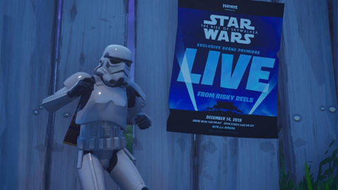 [Evento Exclusivo] Fortnite representará una escena de Star Wars: El Ascenso de Skywalker
