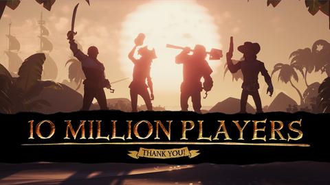Sea of Thieves rompe la barrera de los 10 millones de jugadores