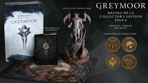 GAME presenta la edición exclusiva Collector's Upgrade de The Elder Scrolls Online