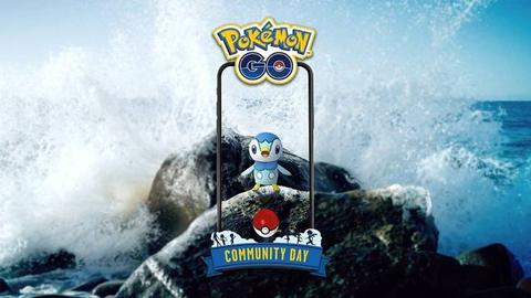 Pokémon Go: El día de la comunidad de enero estará protagonizado por Piplup