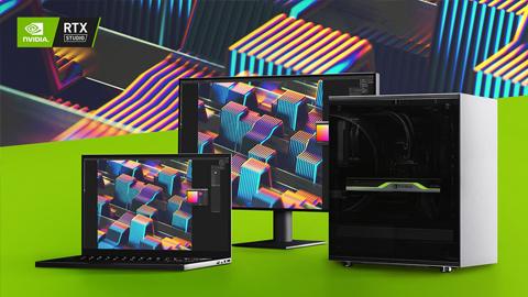 NVIDIA presenta los nuevos sistemas Studio RTX durante el CES 2020