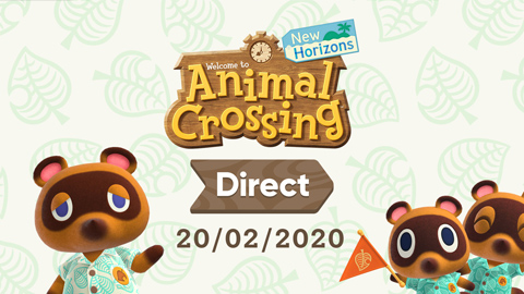 Nintendo anuncia un Animal Crossing Direct dedicado al título «New Horizons»