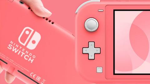 Nintendo anuncia la nueva versión Coral para Nintendo Switch Lite