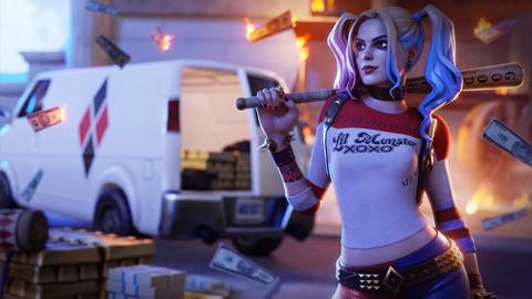 Harley Quinn llega a Fortnite con motivo del estreno de Aves de Presa