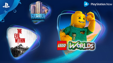 PlayStation Now amplía su catálogo con The Evil Within, LEGO Worlds y Cities: Skylines