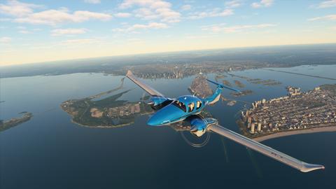 Comparan los escenarios de Microsoft Flight Simulator con los reales