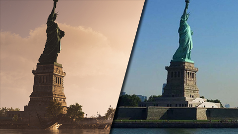 Realizan una comparación del mapa de The Division 2: Warlords of New York con la realidad