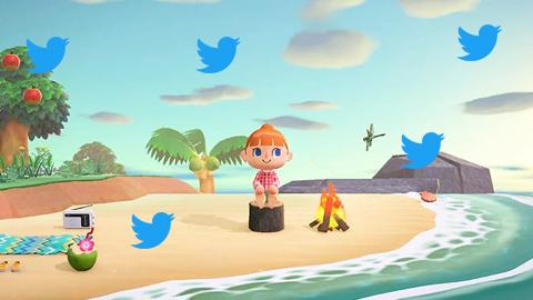 Animal Crossing New Horizons es el juego más mencionado en Twitter desde su lanzamiento