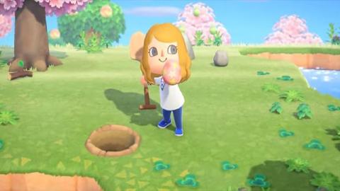 Animal Crossing: New Horizons limita la aparición de huevos que aparecen en las islas