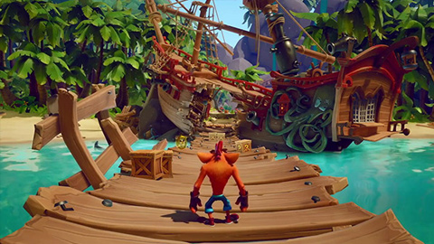 Crash Bandicoot 4: It's About Time presenta un nuevo gameplay cargado de detalles