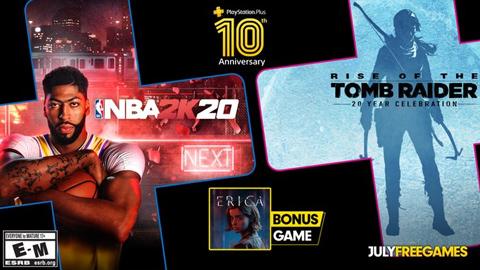 Anunciados los videojuegos del PlayStation Plus para el mes de julio (2020)