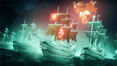 Sea of Thieves recibe los barcos fantasma con la actualización gratuita de «Haunted Shores»