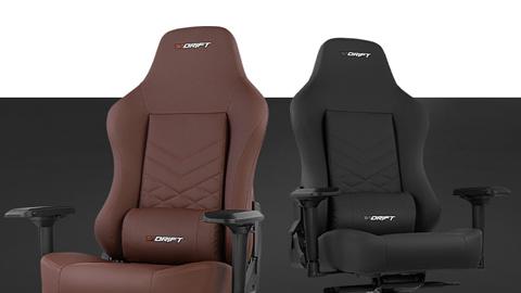 Drift presenta sus nuevas sillas gaming DR250, DR500 y DR550