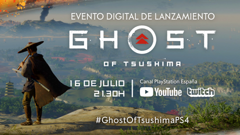 Sony presenta el evento digital de lanzamiento de Ghost of Tsushima
