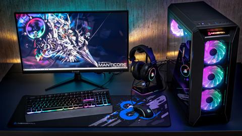Newskill presenta su gran lanzamiento de 2020: Manticore, su PC Gaming con periféricos incluidos.