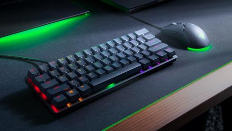 Razer desvela su nuevo teclado Razer Huntsman Mini