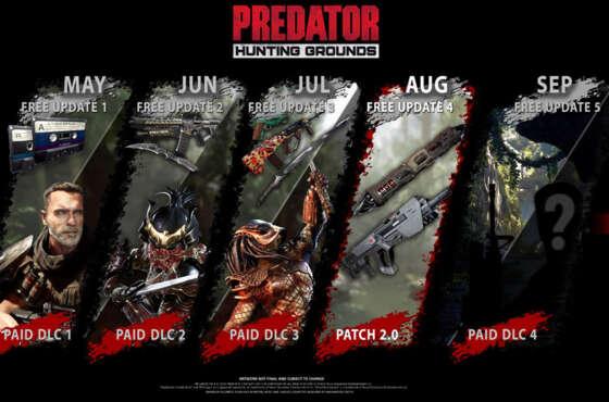 Predator: Hunting Grounds recibirá un nuevo parche
