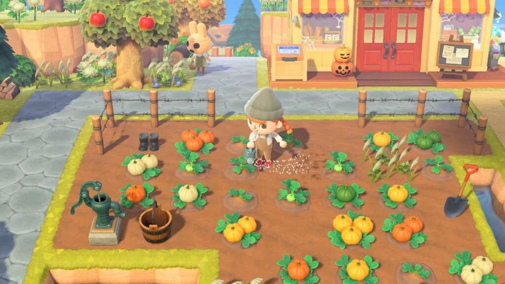 Animal Crossing - Huerto de Calabazas