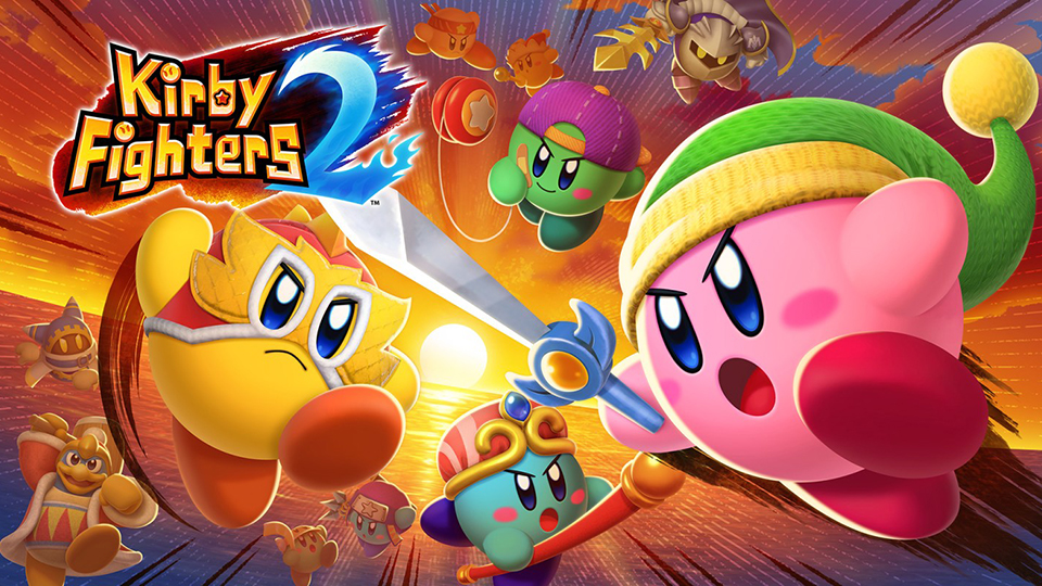 Kirby Fighters 2 aterriza hoy en Nintendo Switch con adorables combates