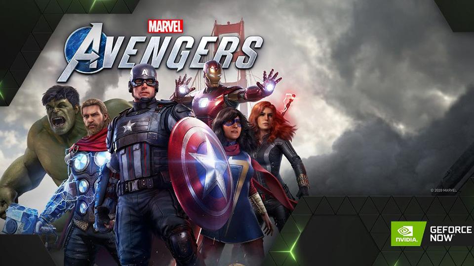 Marvels Avengers llega a GeForce NOW