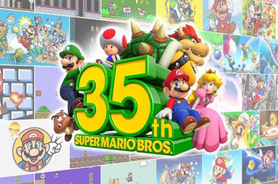 Super Mario Bros 35º aniversario